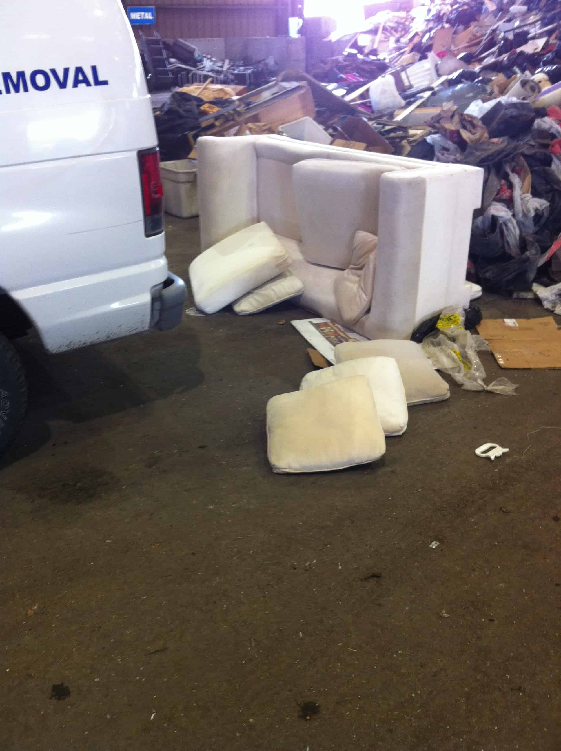 Sofa Bed Couch Bulky Or Junk Items Vancouver Service
