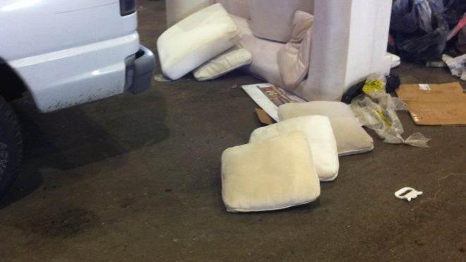 Sofa Bed Couch, Bulky or Junk Items - Vancouver Service