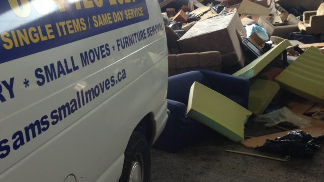 Couch Removal Services | Vancouver