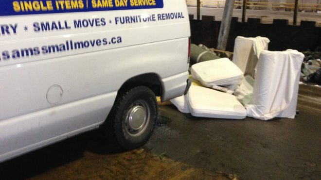 Last Minute - Sectional Sofas Removal
