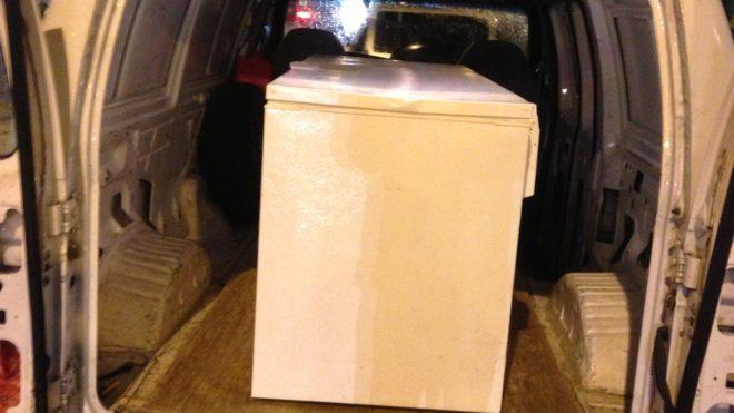 Refrigerator or Freezer Recycling Pick Up & Haul Away