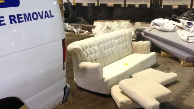 couch, sofa, sectional, love seat, recliner, table Removal / Disposal