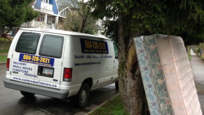 Cheap Mattress Removal Disposal Service In East Vancouver
