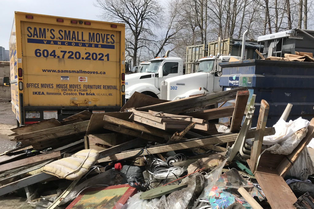Renovation junk removal