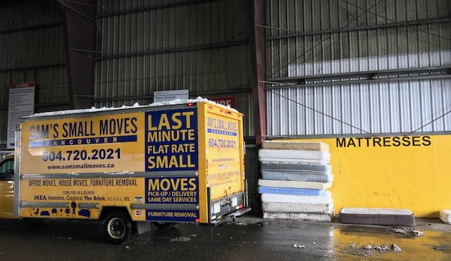 Mattress removal Vancouver - Same Day - Short Notice Service Available