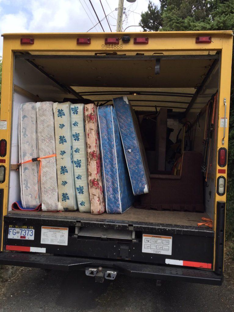 Mattress & TV Disposal, Box Spring Removal | Sam's Junk Removal